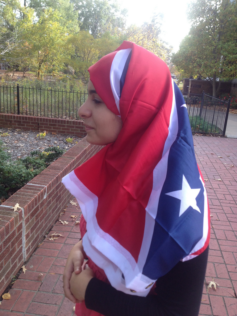 Wearing a Hijab in the United States Is Just as Ridiculous as Flying the Confederate Flag