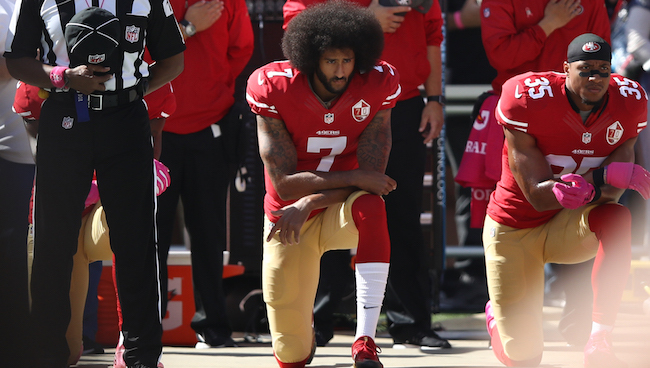 Kneeling for the Anthem Doesn't Make You a Traitor; It Just Makes You Look Stupid